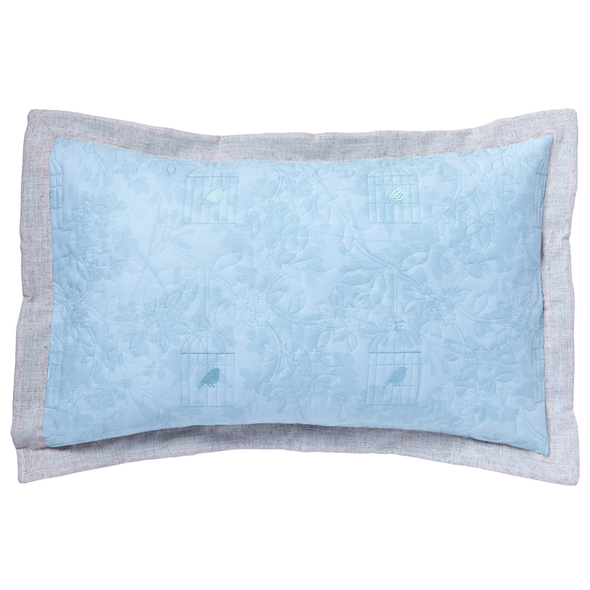 Duck Egg Evelyn Collection Pillow Sham