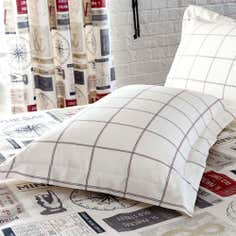 Salvage Ticket Collection Oxford Pillowcase