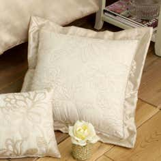 Gold Classique Collection Square Cushion