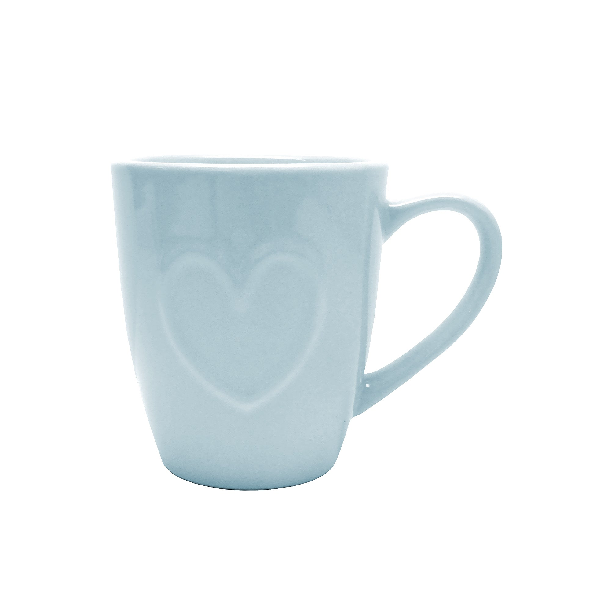 Duck Egg Country Heart Collection Mug