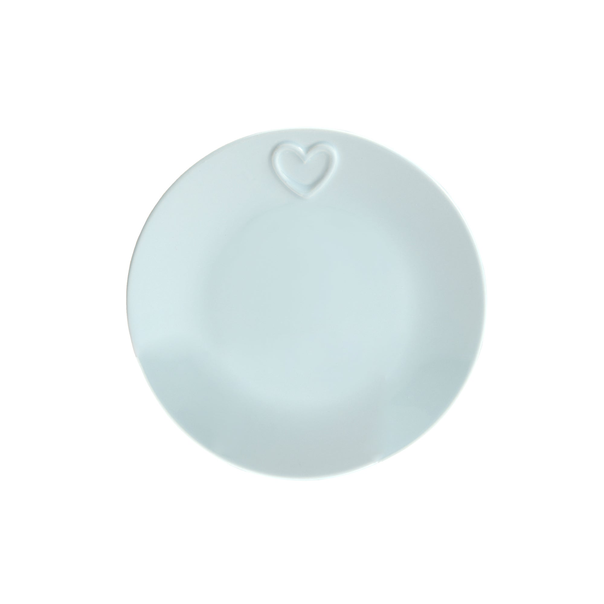 Duck Egg Country Heart Collection Side Plate