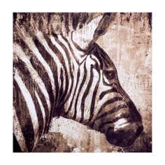 Zebra Printed Canvas