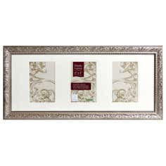 Champagne Ornate 3 Photo Frame