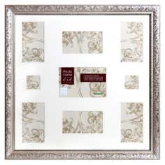 Champagne Ornate Multi Opening Photo Frame