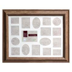 Pine Effect Multi Aperture Photo Frame
