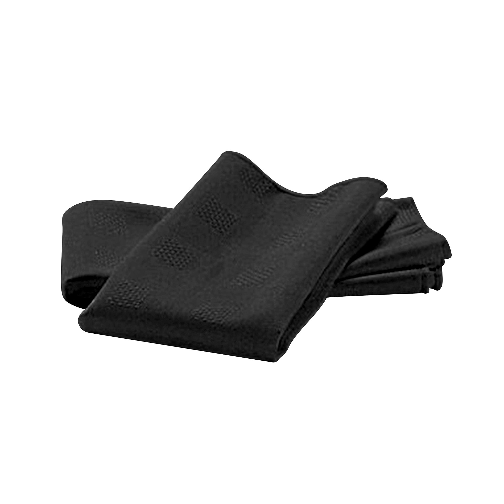 Vienna Collection Pack of Four Black Napkins