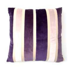 Aubergine Verve Cushion Cover