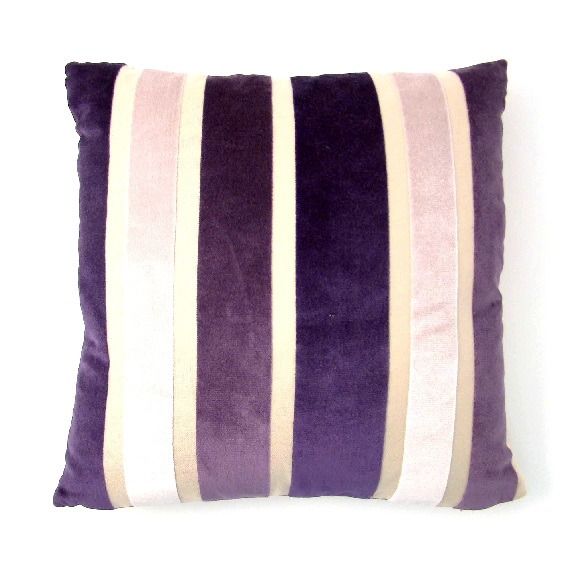 Aubergine Verve Cushion Cover
