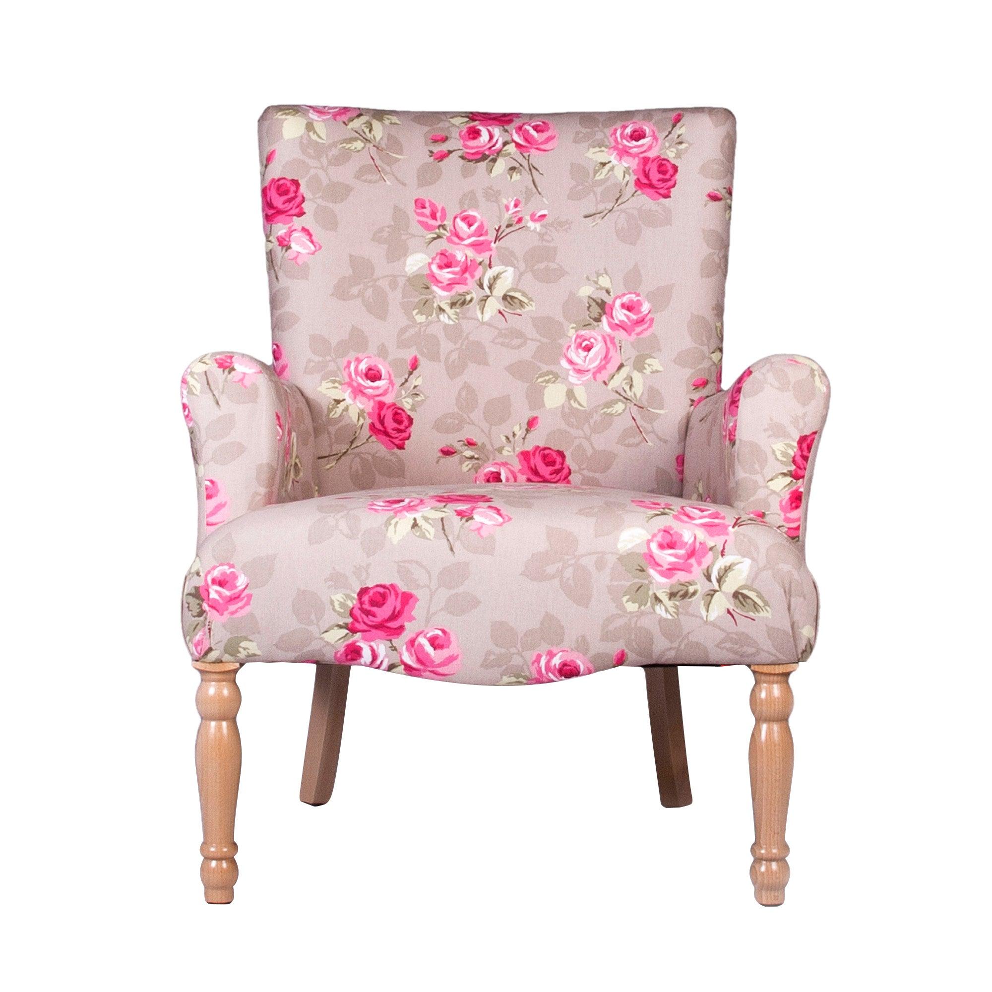 Nancy Floral Lottie Chair