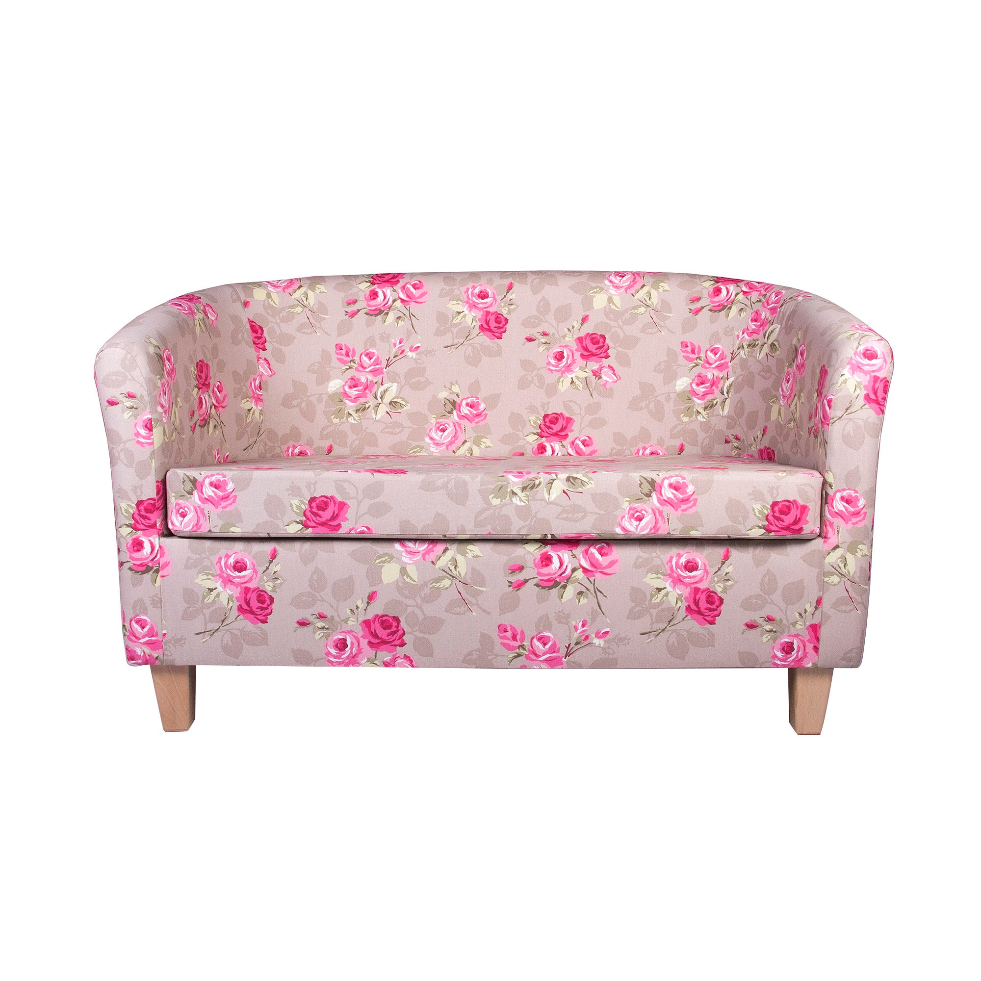 Nancy Floral Two Seater Tub Chair