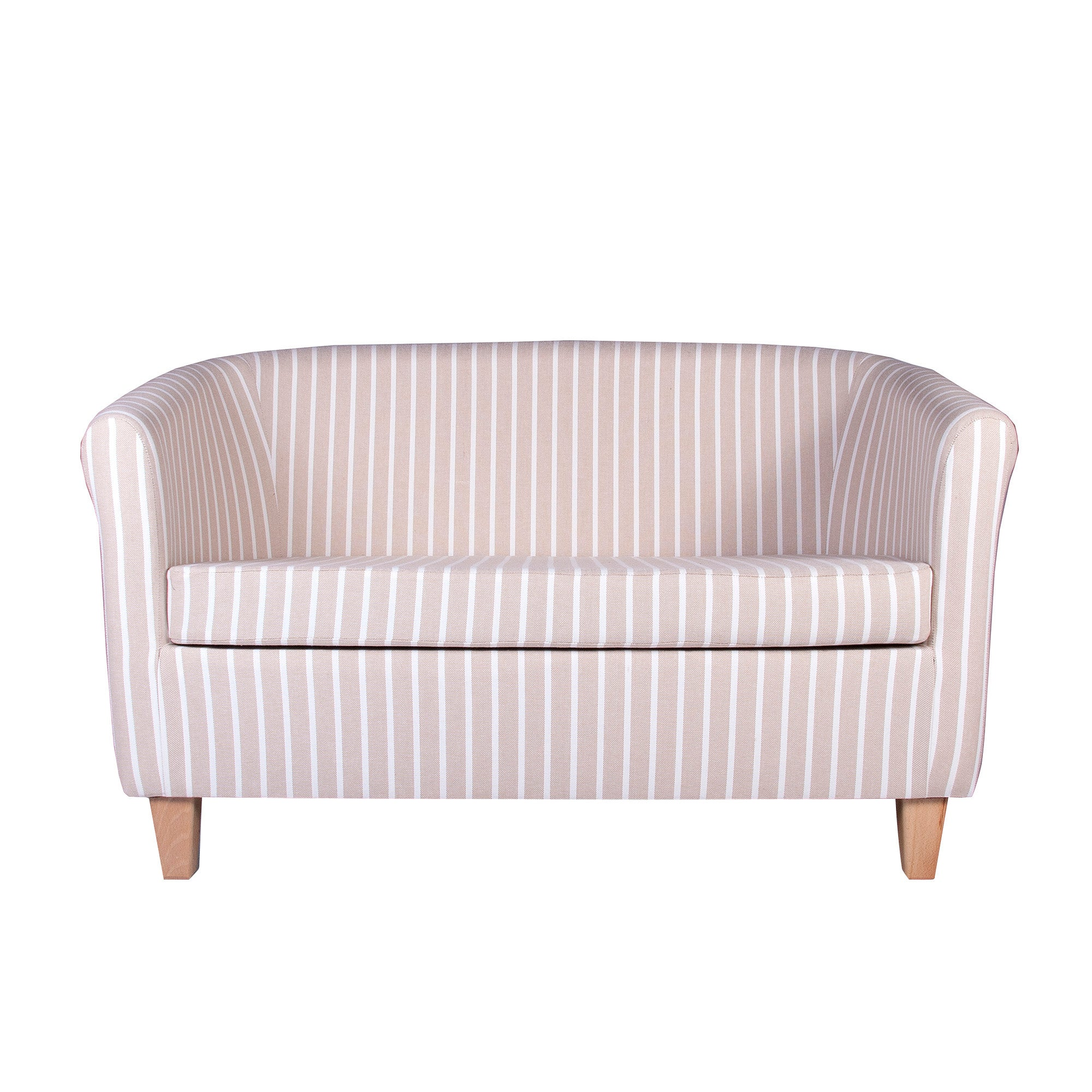Hampton Stripe Two Seater Tub Chair