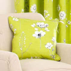 Green Darwin Collection Square Cushion