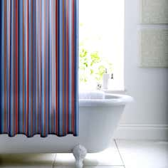 Newhaven Collection Striped Shower Curtain