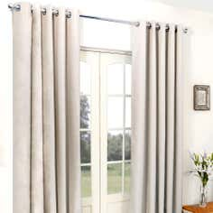 Biscuit Cassini Blackout Eyelet Curtains