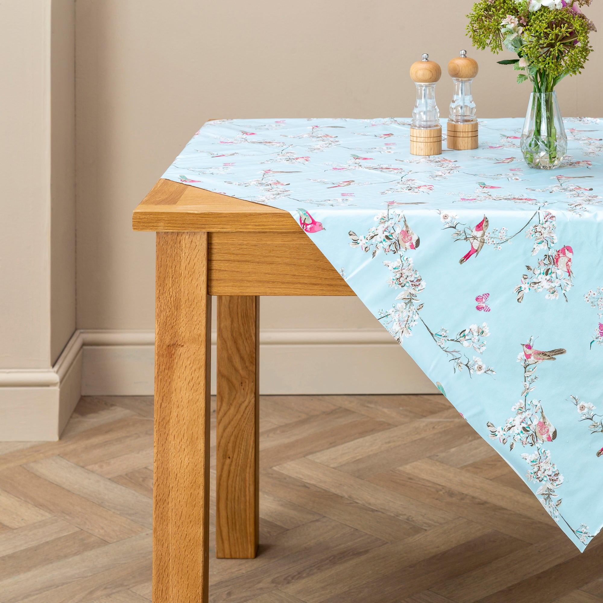Beautiful Birds Collection PVC Tablecloth