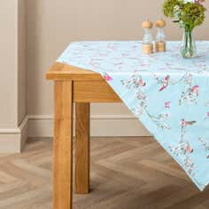 Beautiful Birds Round PVC Tablecloth