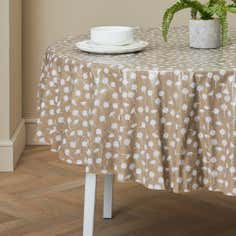 Daisy Round PVC Tablecloth