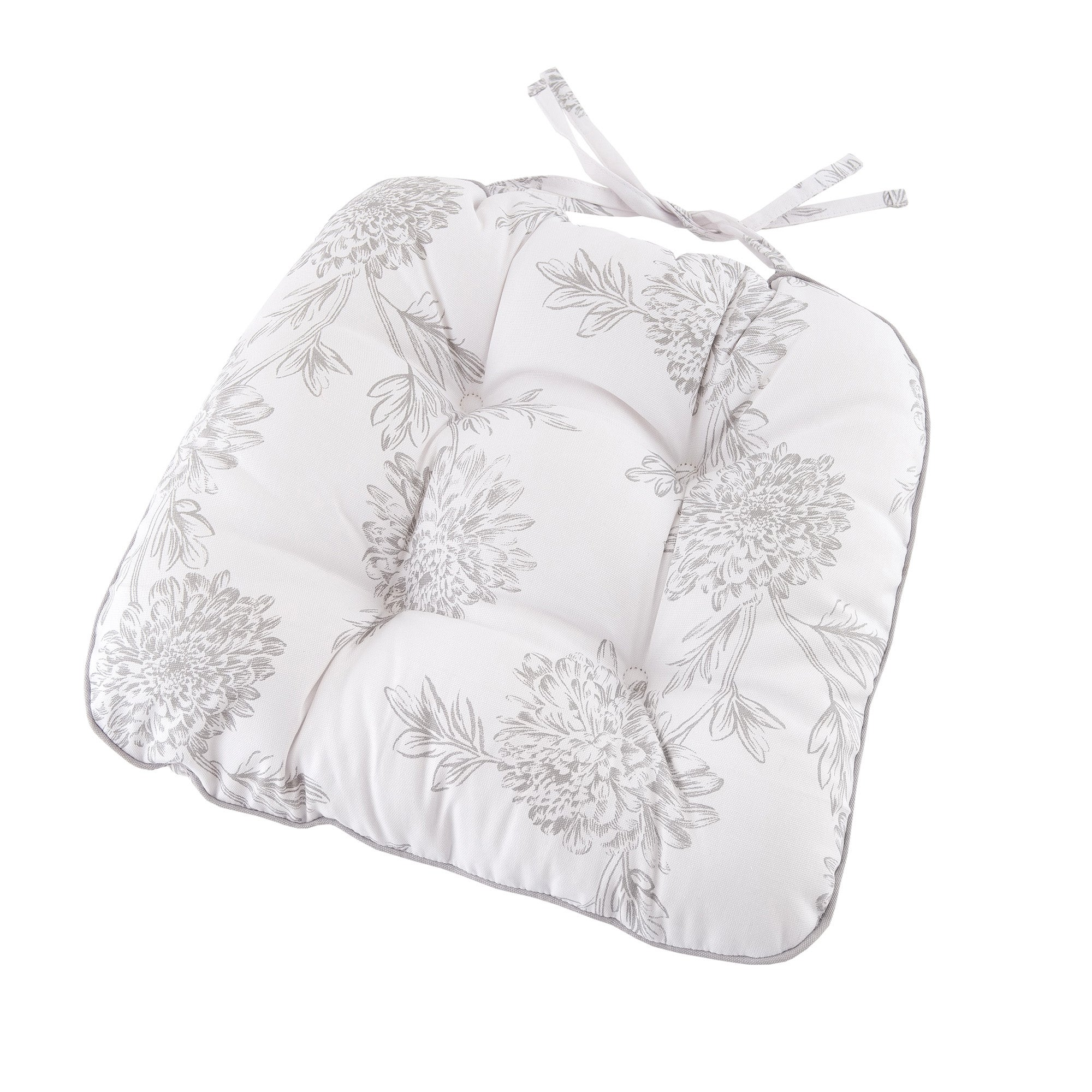 Etched Floral Collection Seat Pad