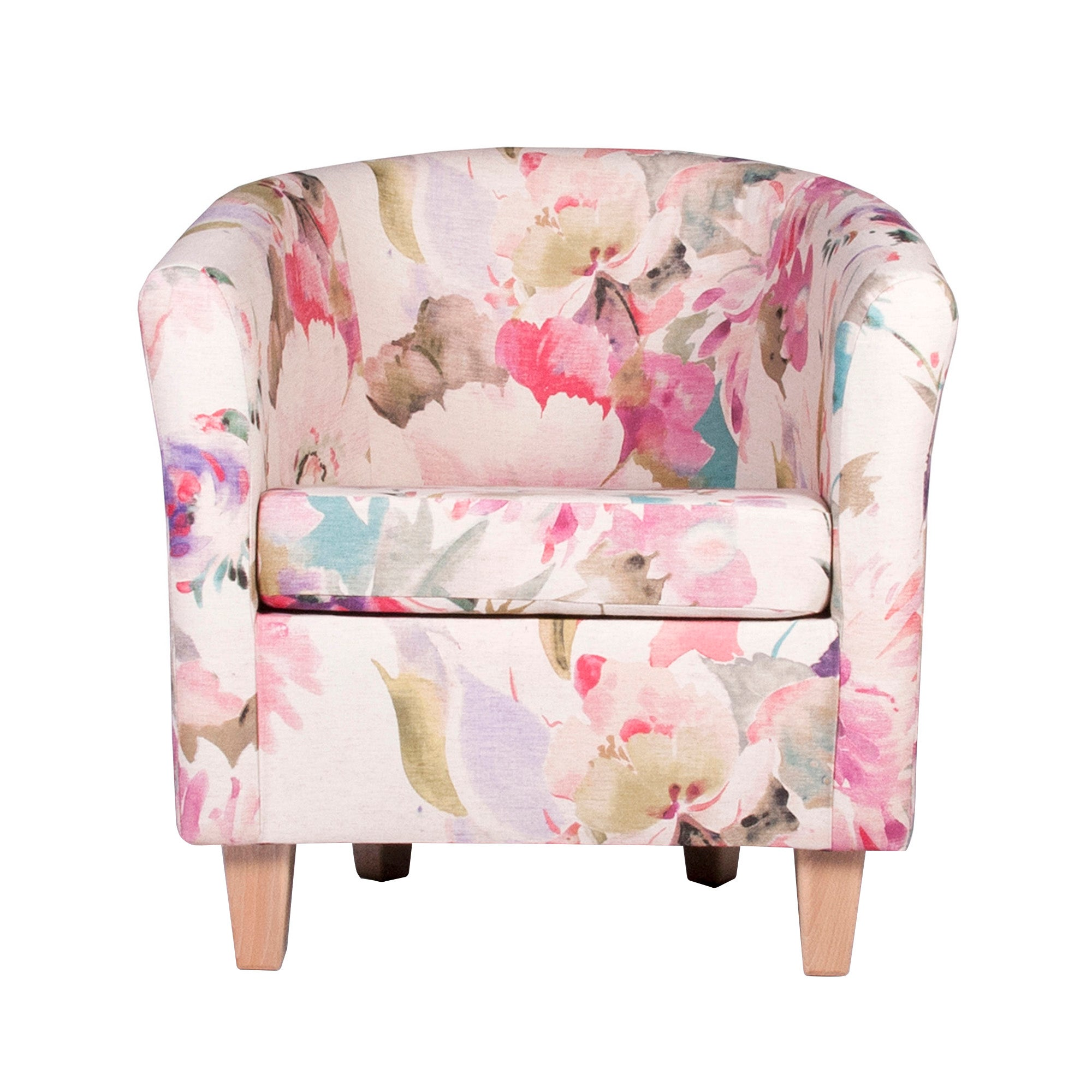 Floral Bloom Tub Chair