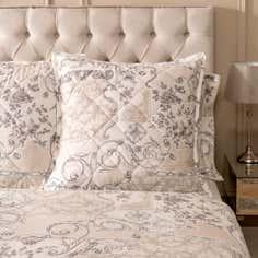 Dorma Taupe Valentina Collection Continental Pillowcase