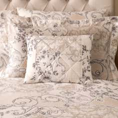 Dorma Taupe Valentina Collection Boudoir Cushion