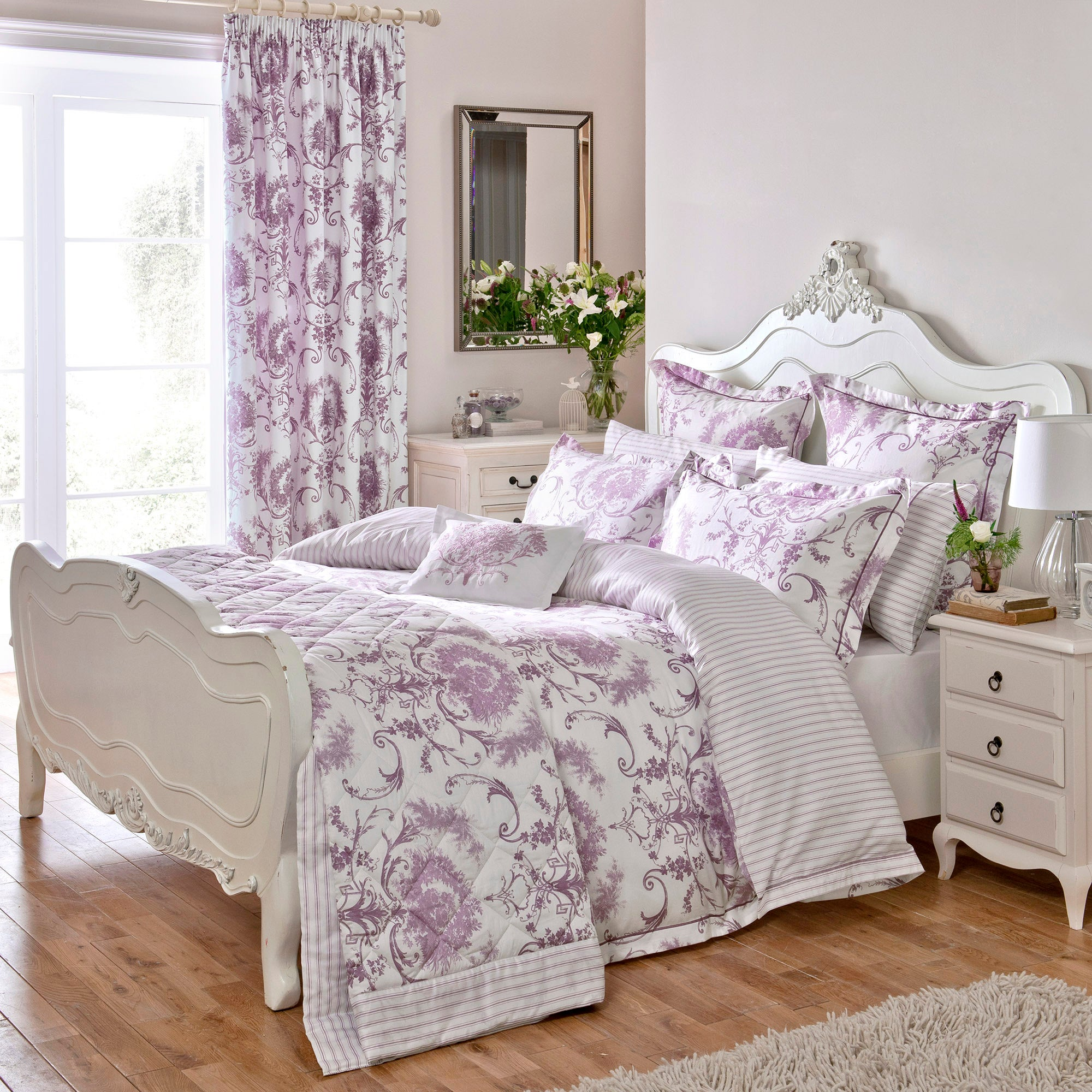 Dorma Heather Toile Collection Duvet Cover Set