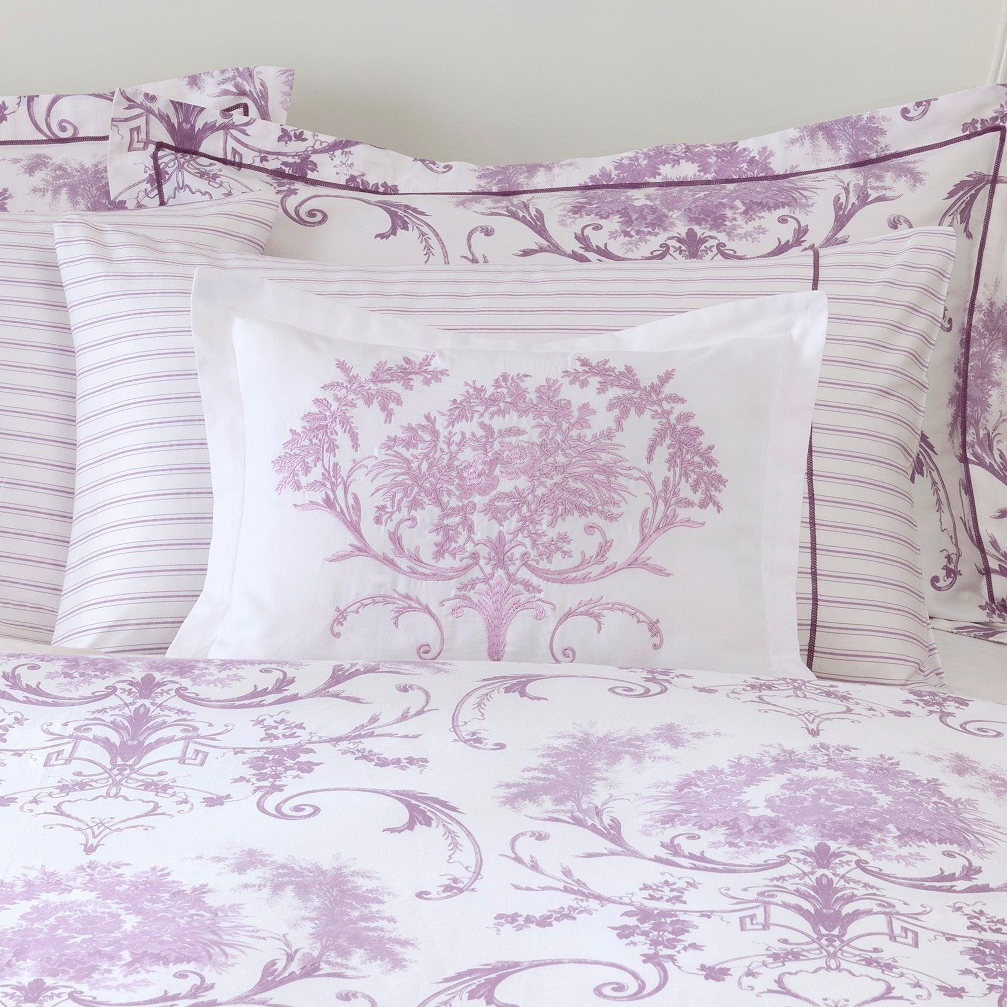 Dorma Heather Toile Collection Boudoir Cushion