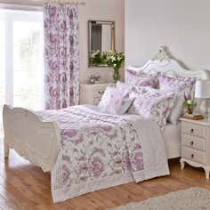 Dorma Heather Toile Collection Bedspread
