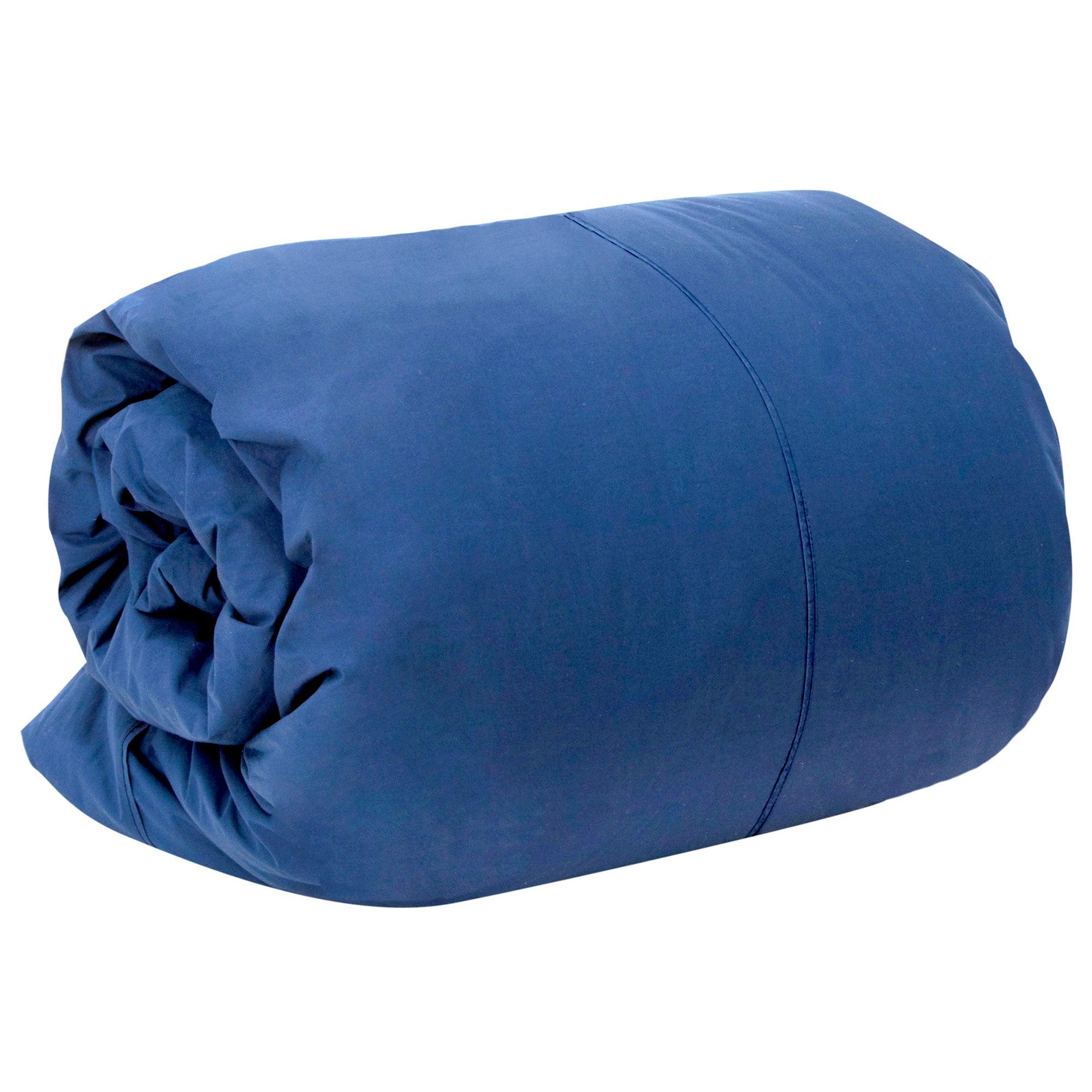 Dorma 300 Thread Count Navy Plain Dye Collection Duvet Cover