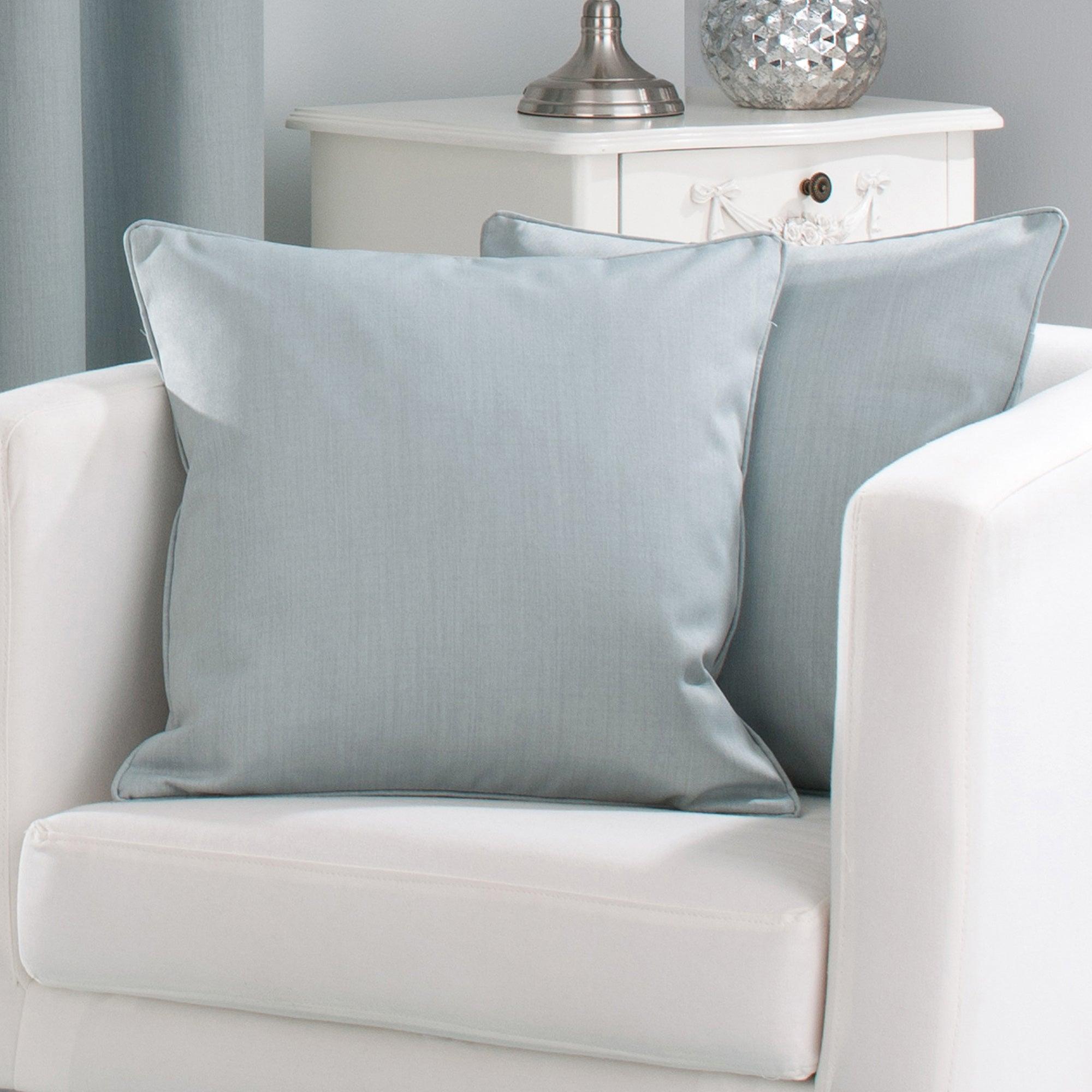 Duck Egg Solar Cushion Cover