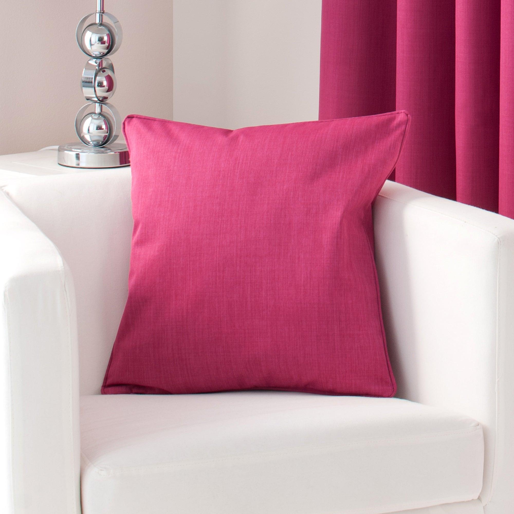 Fuchsia Solar Cushion Cover