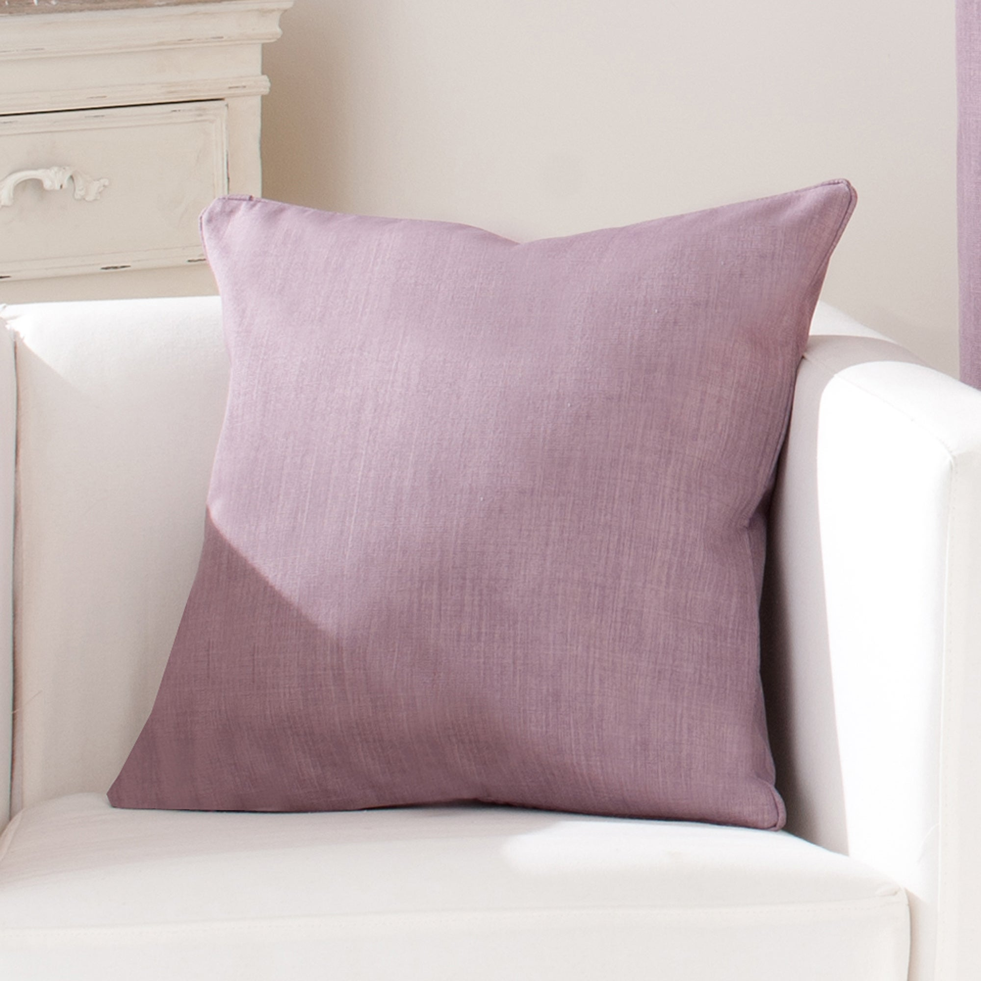 Mauve Solar Cushion Cover