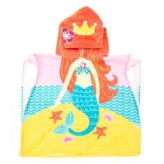 Kids Mermaid Poncho