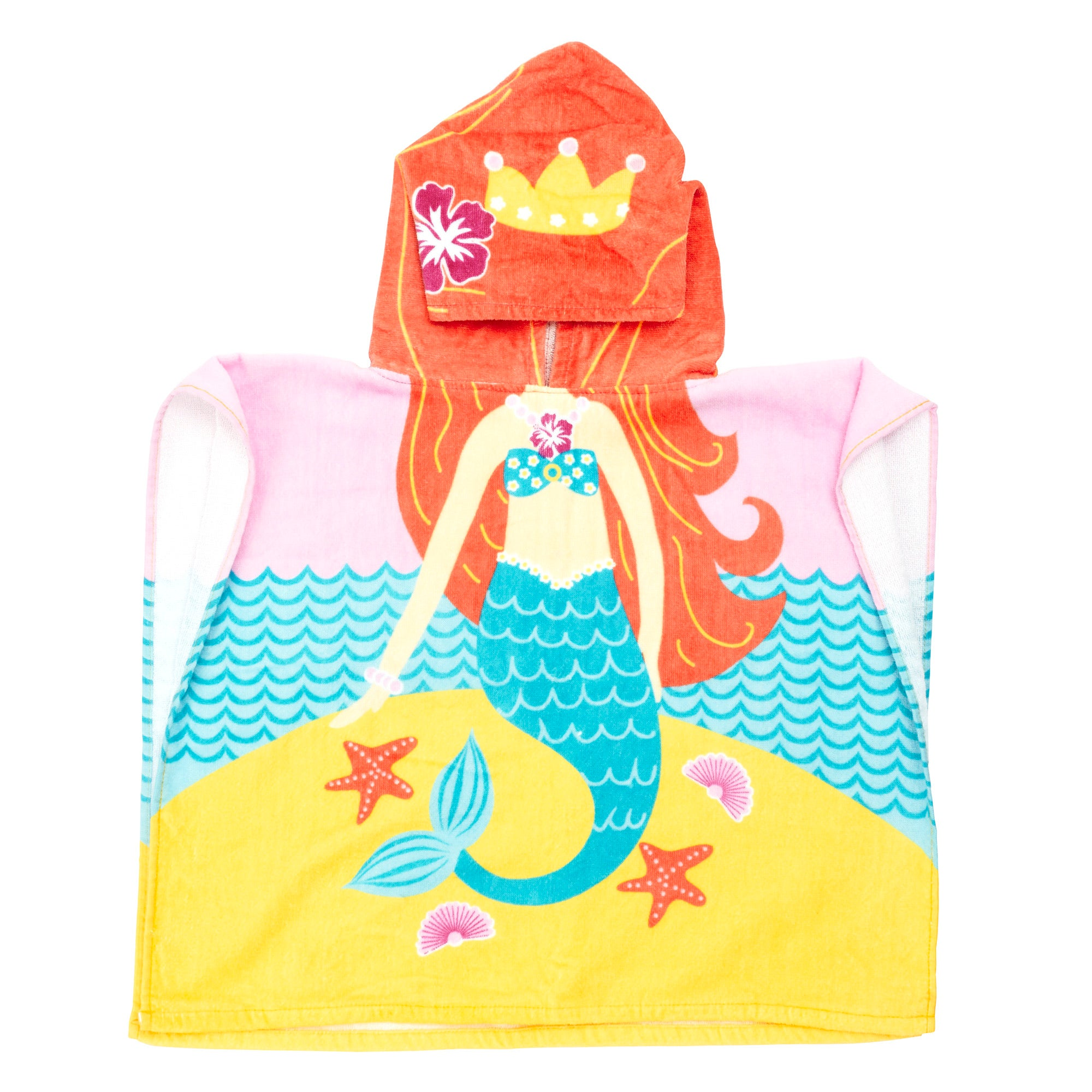 Kids Mermaid Poncho