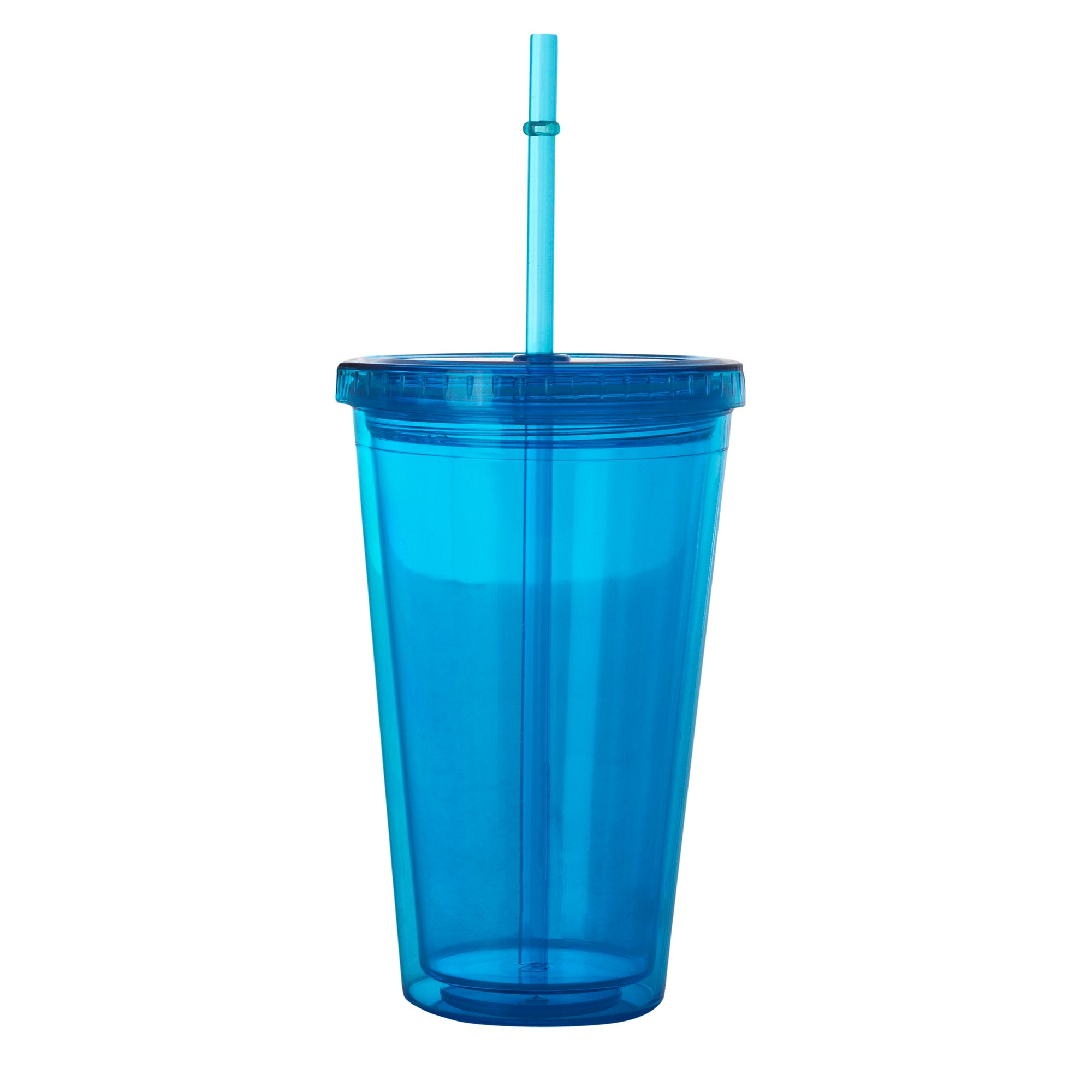Double Wall Cup and Straw