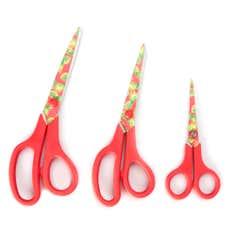 Pineapple Pack of 3 Scissors