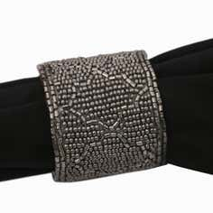 Fretwork Collection Beaded Napkin Ring