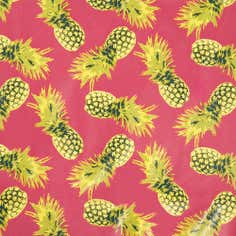 Pineapple Print PVC Tablecloth