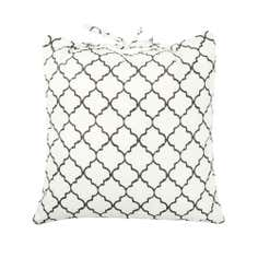Fretwork Water Resistant Cushion Seat Pad