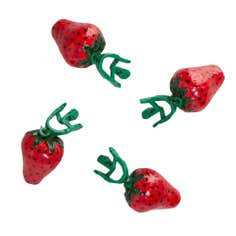 Strawberry Pack of 4 Tablecloth Weights
