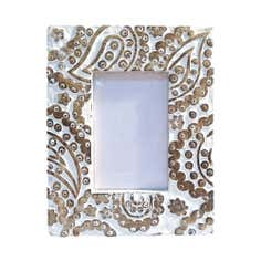 White Wash Photo Frame