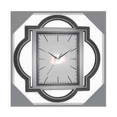 Grey Balinese Style Clock