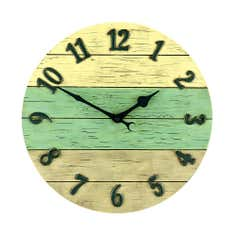 Driftwood Style Clock