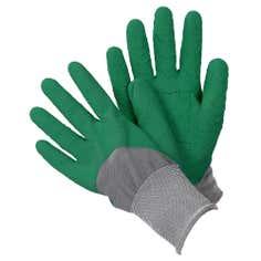 Mens All Seasons Green Gardener Gloves