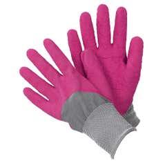 Ladies All Seasons Pink Gardener Gloves