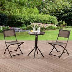 Oslo Two Seater Bistro Garden Furniture Set