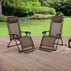Pair of Oslo Floating Loungers