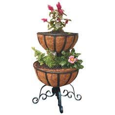 2 Tier Flower Fountain Planter