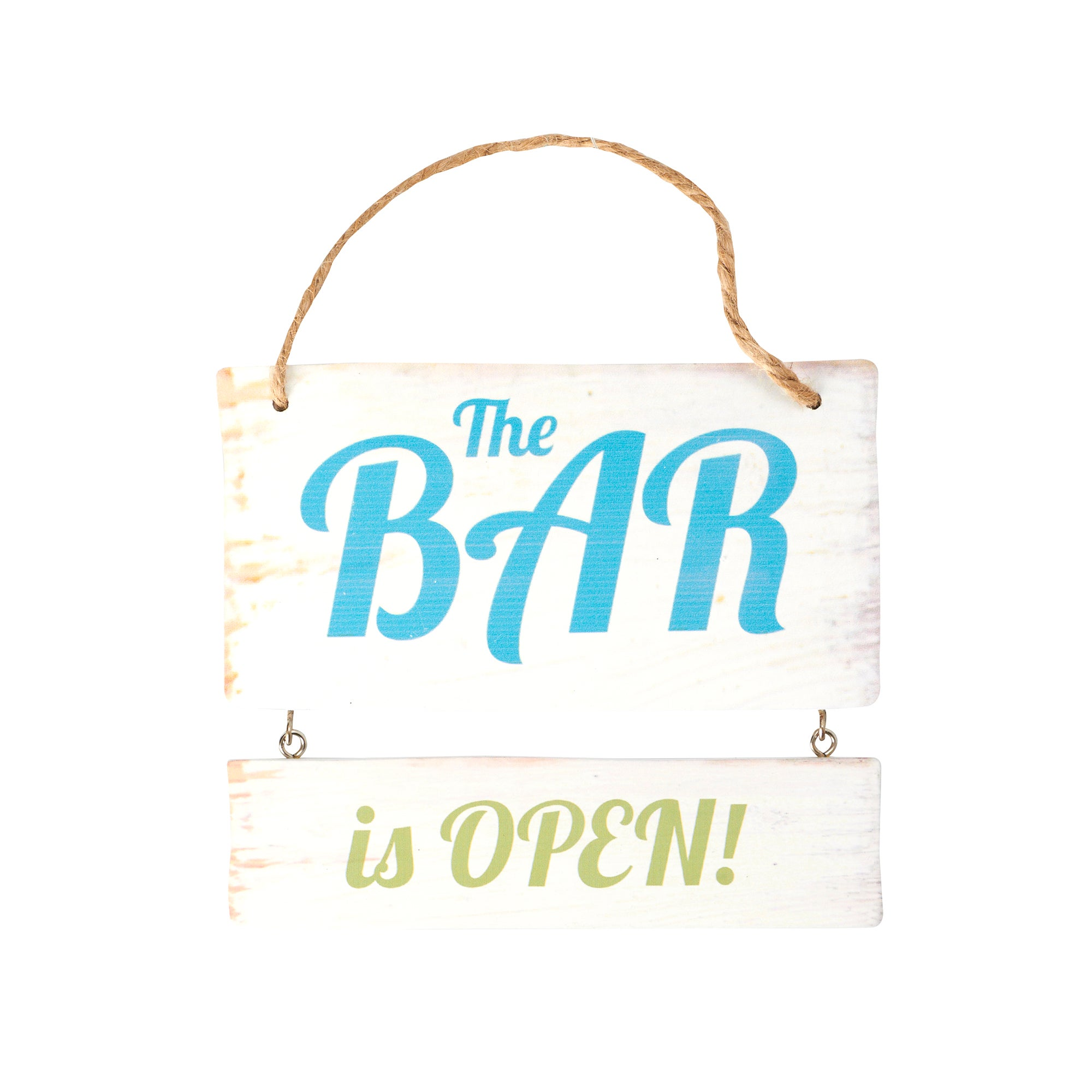 Wooden Bar Plaque