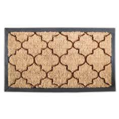 Fretwork Coir Doormat